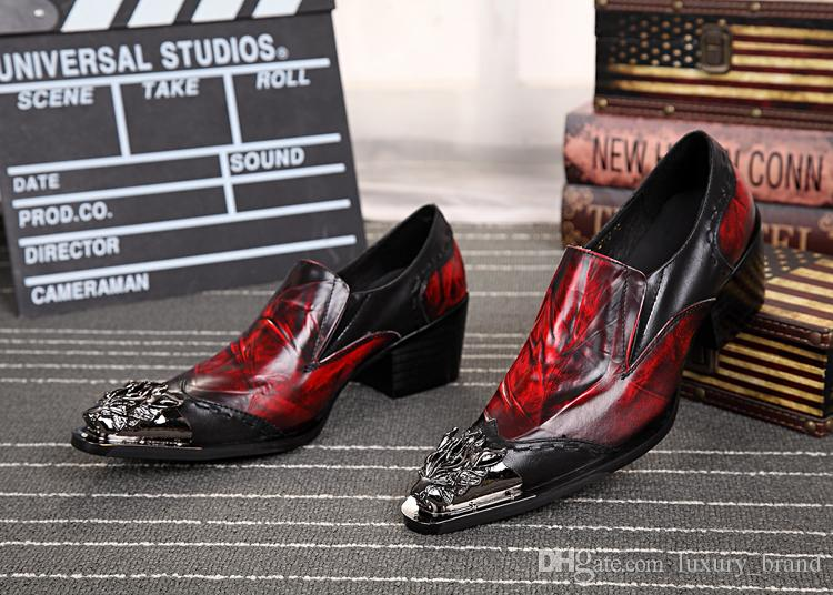 560086dd0430 HOT Men Brand Fashion Pointed Toe Flat With Wedding Shoes Sequined ...