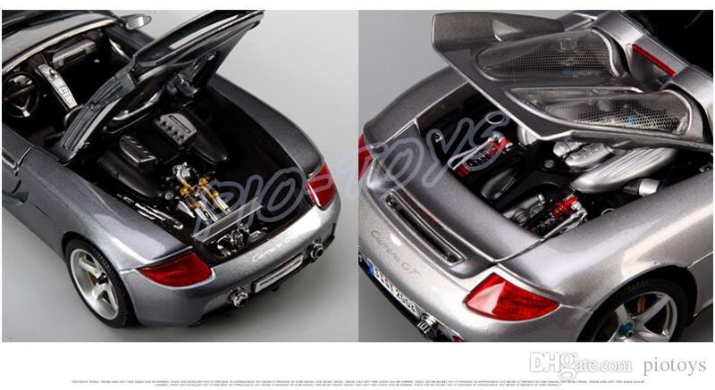 Nuovo regalo di arrivo Maisto GT 1:18 di lusso in metallo modello Roadster Car Big Fan collezione di giocattoli in lega di giocattoli regalo di simulazione