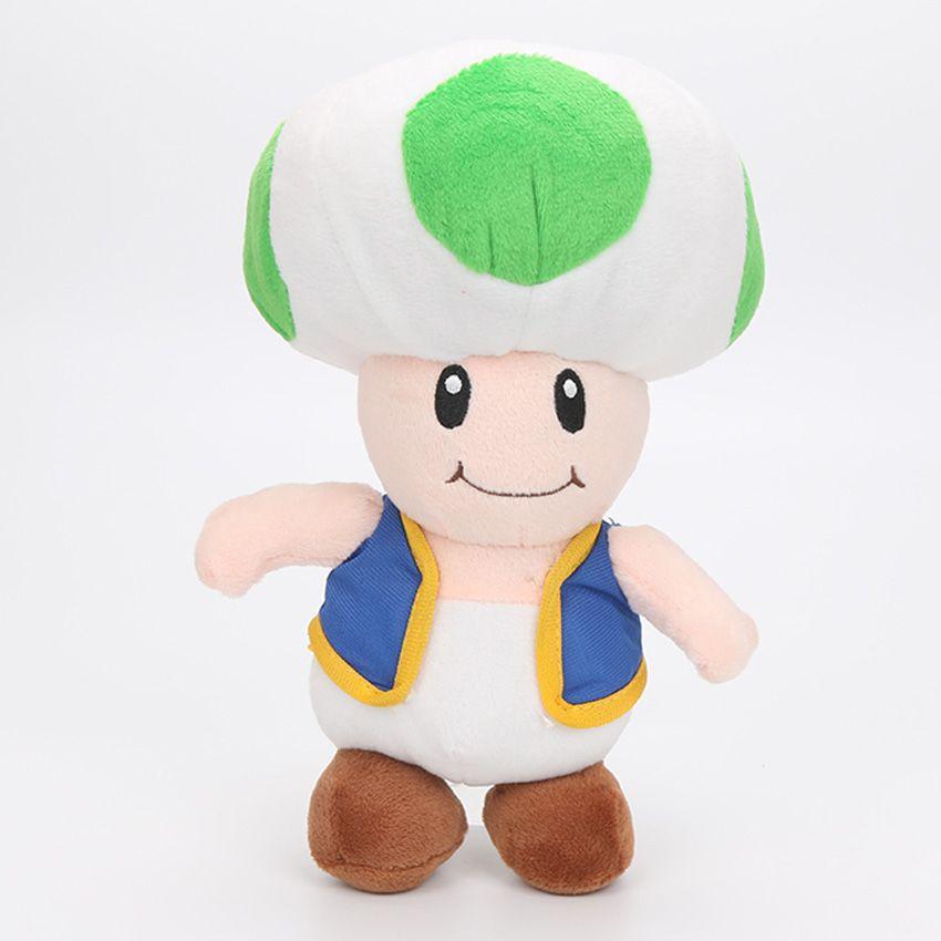 10-16'' Super MARIO Bros Mushroom Toad Plush Toy Doll Pendants Hook Stuffed Animals Kid Gifts In Stock