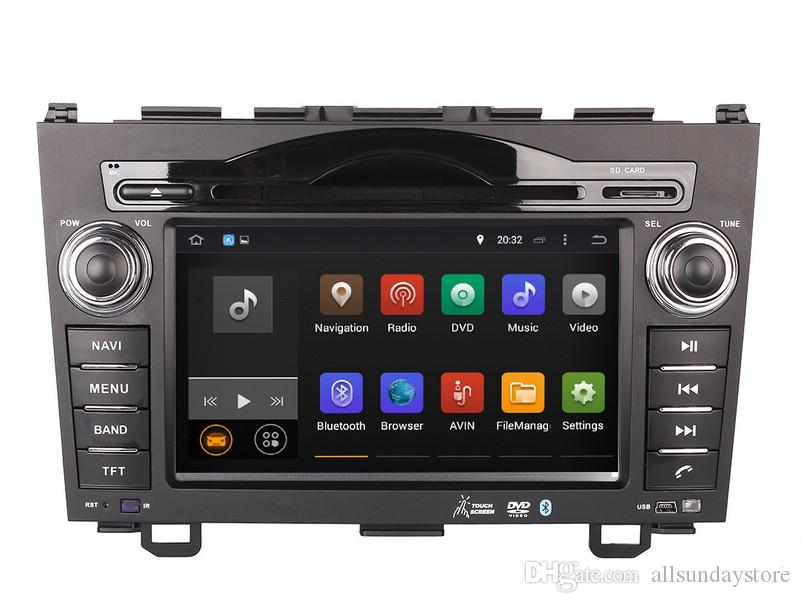 Android 7.1 Car DVD Player GPS Navigation for Honda CRV CR-V 2006-2011 with Radio Bluetooth AUX Stereo Audio Video WIFI 1024*600
