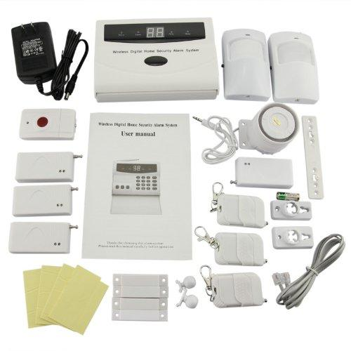 Safearmed Tm Home Security Systems Generic Intelligent Wireless Home Burglar Alarm System Diy Kit With Auto Dial