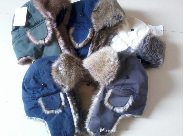 Uomini più calde di Earflap caldo Trapper russo Cappelli del bombardiere impermeabile panno Winter Snow cappello del pattino di inverno delle donne Cap Fashion caldo colorate di alta qualità
