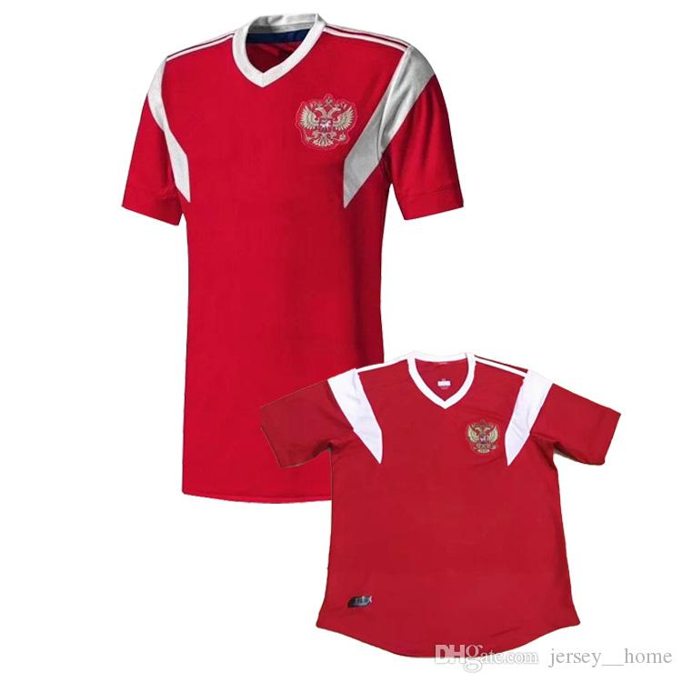 2017 2018 Best Quality Russia Jerseys Home Red Russian Soccer ... 1e4b4601c