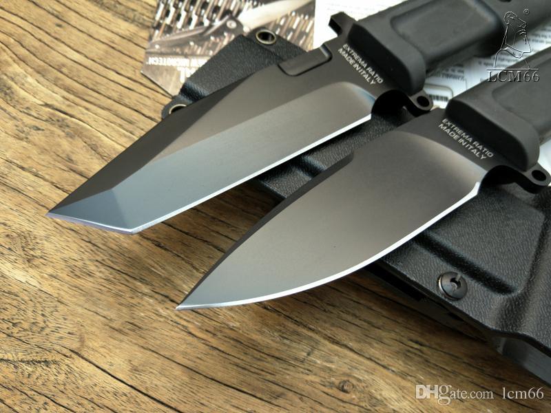 Extrema соотношение точка опоры ТЕСТУДО высокое качество фиксированным лезвием ножа 7Cr17MoV лезвие TPR ручка охотничий инструмент кемпинг нож открытый инструмент выживания