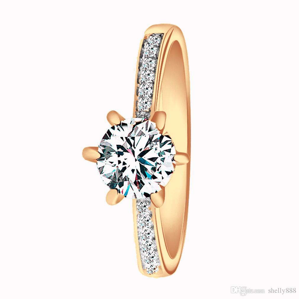 High quality gold filled diamond wedding ring jewelry factory best price wholesale welcome custom wedding rings