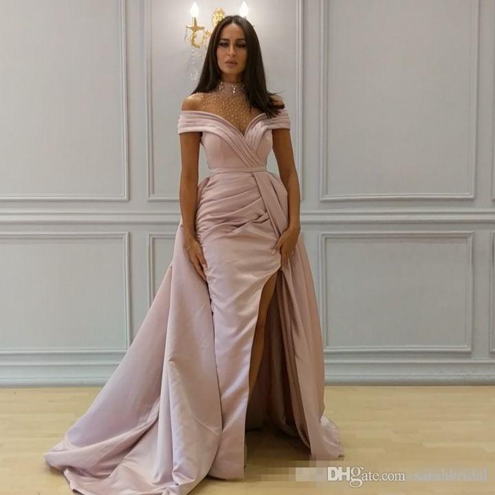 Сексуальное выпускное платье с разрезом сбоку 2019 с длинным вечерним платьем с открытой спиной