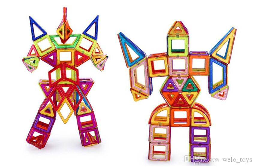Magnetic Toys Building Tiles Blocks Set for Kids Similar Magnetic Building Toys Kids Educational Playing Magnetic Toy Bricks
