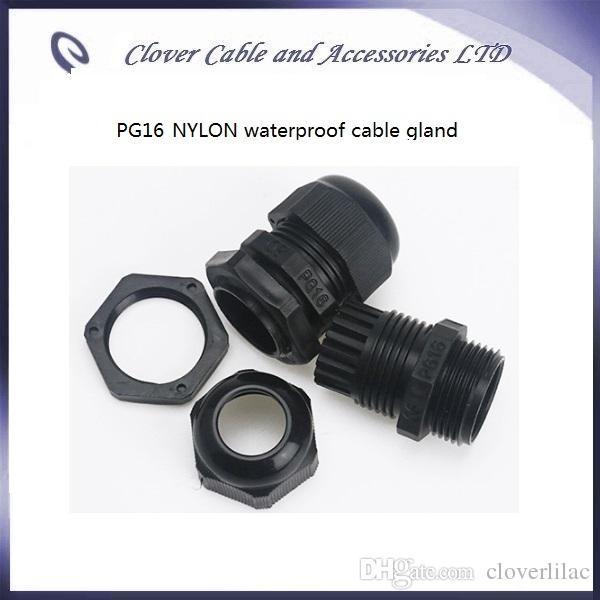 حار بيع وشحن مجاني / IP68 للماء لكابل موصل PG16 النايلون الكابل الغدة