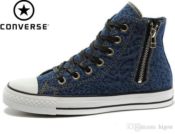 Compre Original Converse Chuck Taylor Lor All Star Zapatos Jean ...