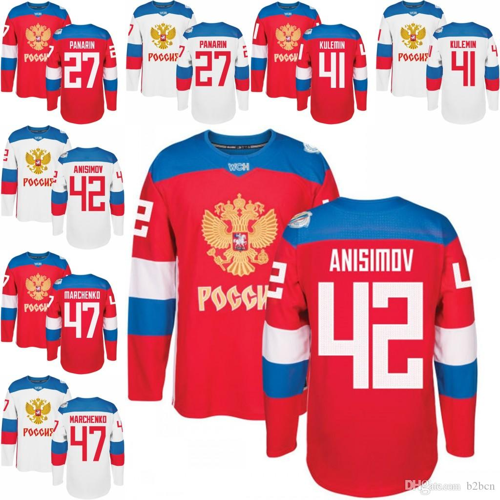 42 Cup 41 Marchenko Artemi 3xl 43 Hockey M com Red 2016 B2bcn Nikolay Of Artem 28 World Kulemin 2019 From Alexey Dhgate Jersey 27 Men's Anisimov Panarin Russia 47
