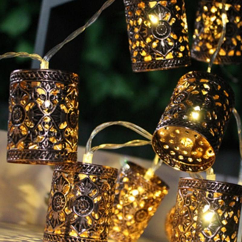Wholesale metal hollow out round lantern led fairy string christmas wholesale metal hollow out round lantern led fairy string christmas lights diy for hallowmas xmas tree wedding party diy decor flower string lights novelty aloadofball Images