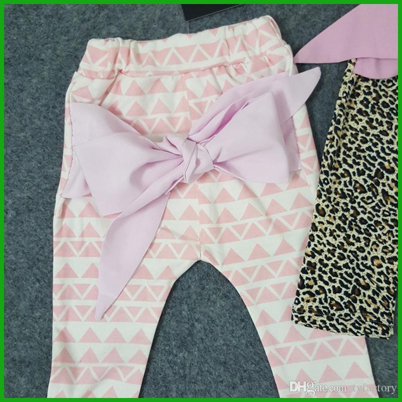 bébé filles pantalon long rose jaune 2016 plus récent printemps automne red bow pantalon haute qualité magasins d'usine livraison gratuite
