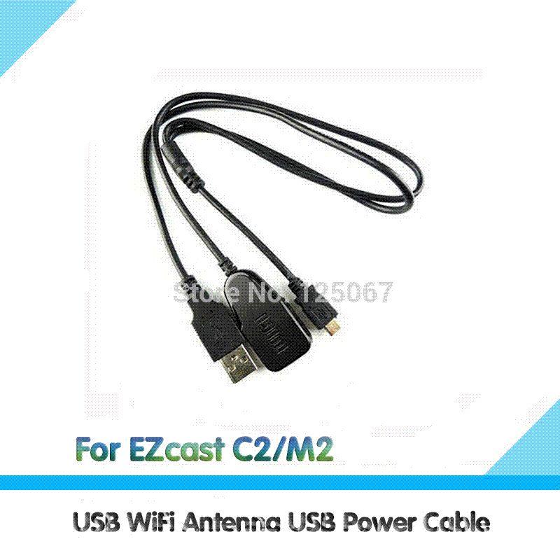 Großhandel Usb Wlan Antenne Usb Stromkabel Für Ezcast Wecast C2 / M2 ...