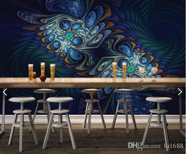 Phenomenal Abstract Daisy Flower Coffee Table Desktop Design Bar 3D Large Mural Wallpaper Living Room Bedroom Wallpaper Painting Tv Background Wallpape Home Interior And Landscaping Pimpapssignezvosmurscom