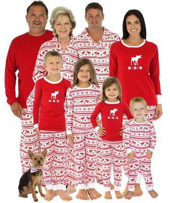 Compre Pijamas De La Familia A Juego Navidad Ano Nuevo Impresion De