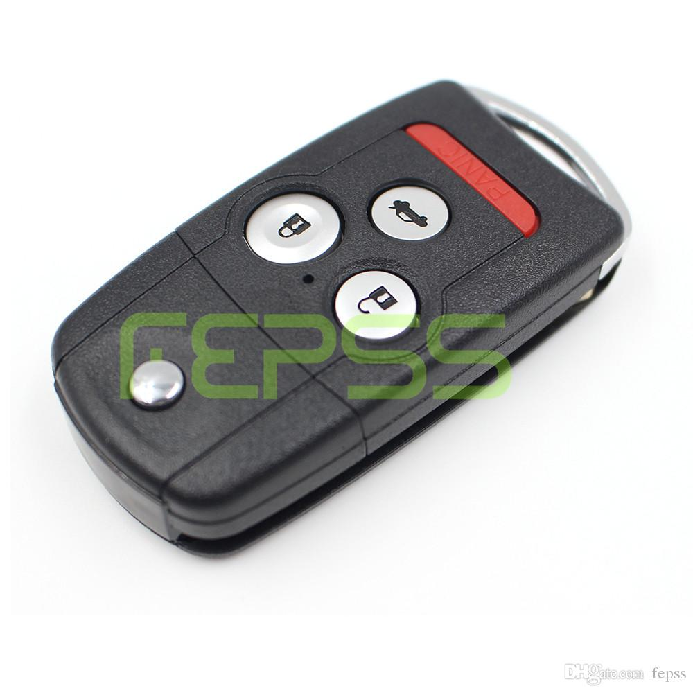 Remote Vibration Shell Key For Honda Acura Tl Mdx New Odyssey Crv - Acura tl key fob
