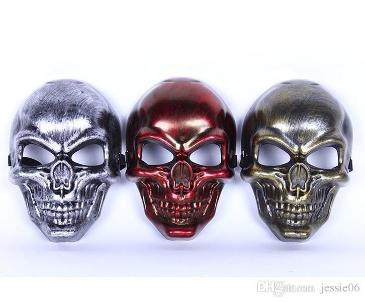 Crâne MASQUE Restauration des anciennes manières Masques tactiques Chasse Halloween Moto En Plein Air Militaire Wargame Paintball Protection Masque DHL
