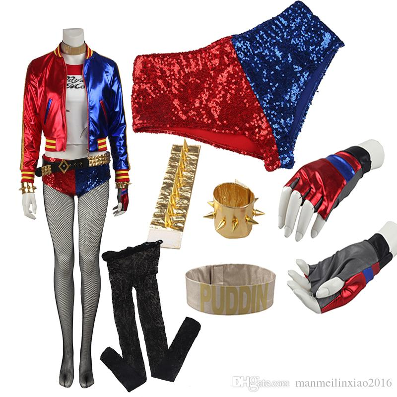 Original Edition Suicide Squad Harley Quinn Joker Cosplay Costume Special Costume High Quality Full Set Any Size For Unisex Suicide Squad Harley Quinn ...  sc 1 st  DHgate.com : the original joker costume  - Germanpascual.Com