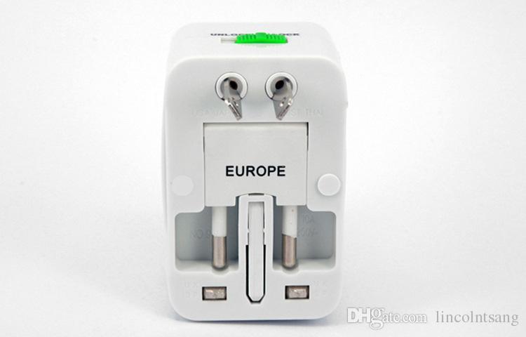 Adaptador de corriente universal al por mayor del cargador de la pared del viaje / para el enchufe Protector de sobretensiones internacional Adaptador internacional de la energía del viaje del enchufe