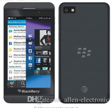100% original blackberry z10 mobile phone NFC GPS WIFI 3G 4G phone unlocked  4 2'' touch phone 2+16GB dual core Refurbished