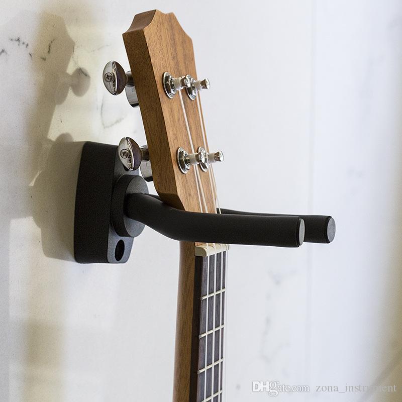 Cabide de guitarra Gancho Titular Suporte de Montagem Na Parede Stand De Suporte De Rack Se Encaixa A Maioria Da Guitarra Da Guitarra Da Guitarra Baixo Gancho