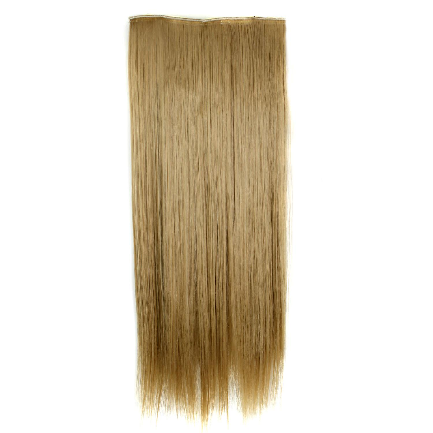 Fake hair extension straight long 24 5 clip in hair extensions see larger image pmusecretfo Choice Image