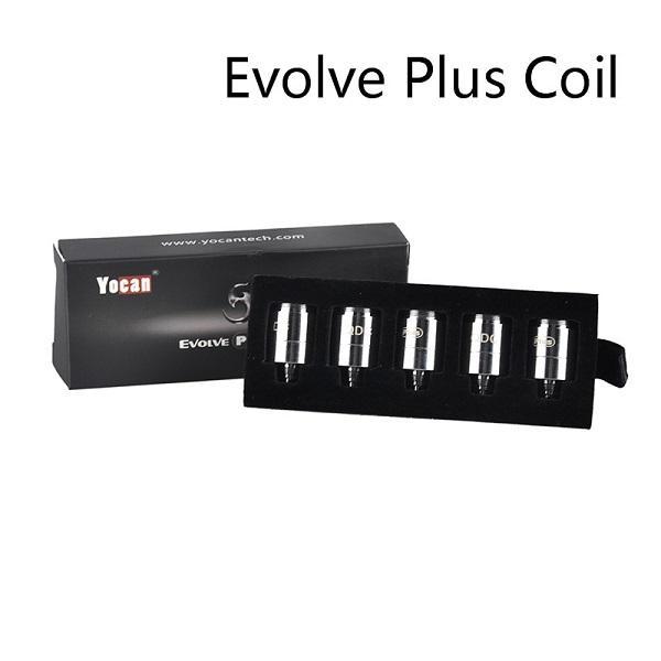 정통 Yocan 진화 플러스 XL 진화 D Pandon 회생 QTC 코일 QDC 세라믹 쿼드 코어 헤드 기화기 키트 코일 100 % 원본