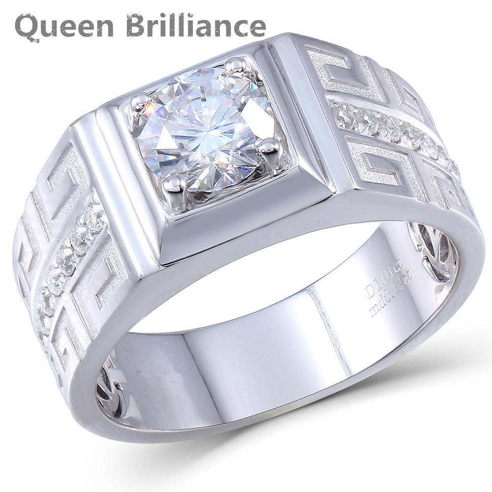 Discount Queen Brilliance 1ct Lab Grown Moissanite Diamond