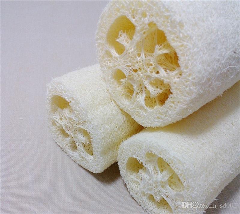 Luffa Bath Brush Home Bathroom Articles For Natural Exfoliating Loofah Baths Skin Shower Massage Spa Towel Portable 1 7nn C