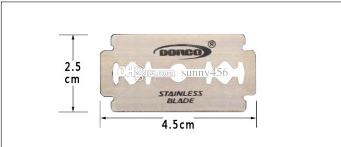 NEW Pack Dorco Platnum ST300 Stainless Steel Double Edge Blade Safety Razor Blade,