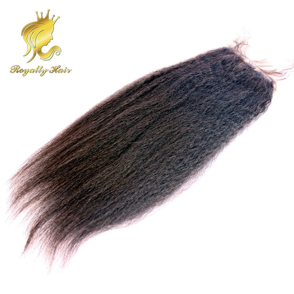Middle Part Free Part 3 Part Silk base Lace kinky Straight Top Closure Hair 4*4 Top Lace Closures