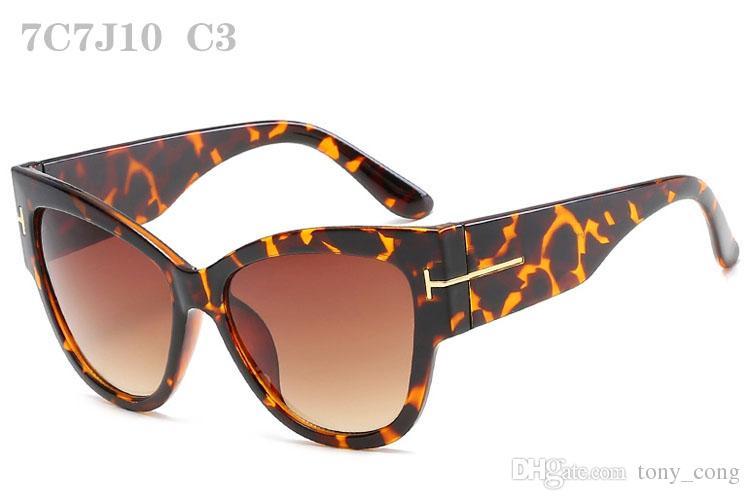 Kadınlar Için güneş gözlüğü Lüks Sunglass Womens Moda Sunglases Bayanlar Boy Güneş Gözlükleri Kadın Retro Tasarımcı Güneş Gözlüğü 7C7J10