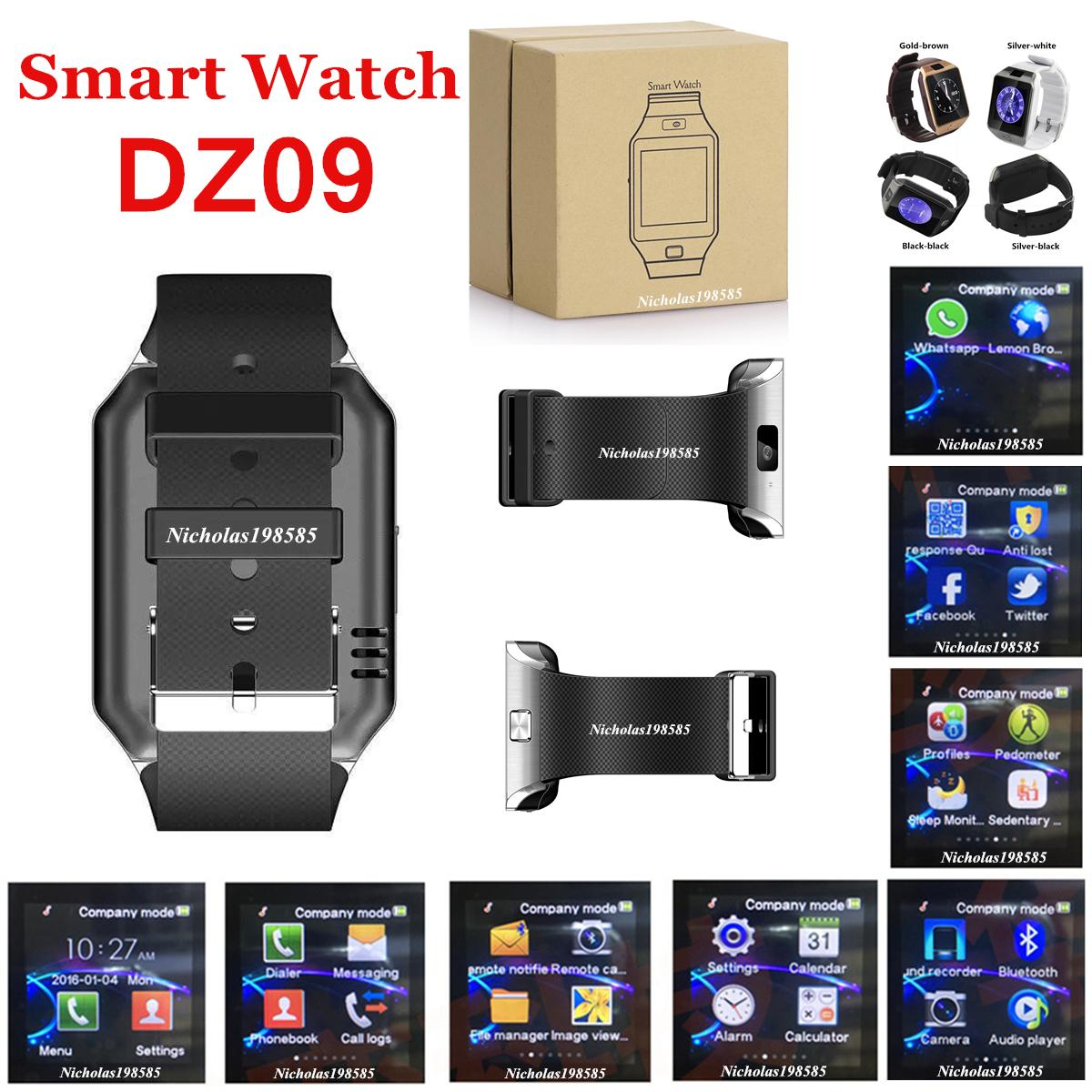 Dz09 1 56inch Screen Touch Multi Function Bluetooth Smart Watche