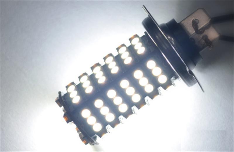 Nueva marca H7 Faros antiniebla Dipped Headlight para coches H4 5W DC12V Auto Parts Luces de marcha atrás Super brillante bombilla de luz blanca JTCL010