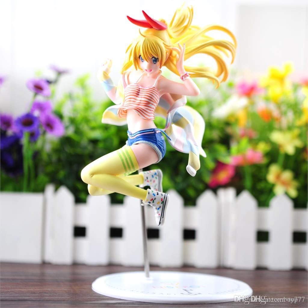 Online Cheap Action Figures Anime Nisekoi Kirisaki Chitoge 1/8 Scale ...