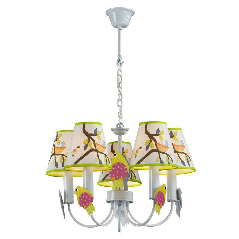 discount 5 lights cartoon owl children pendent ceiling lamps creative bedroom baby room pendant lights chandelier fixtures modern hanging lights large