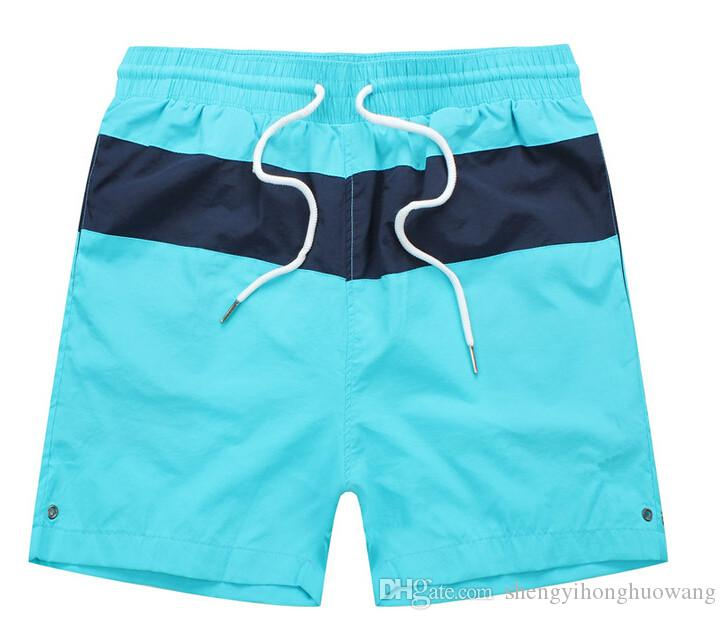 HOT sale Men brand summer polo shorts men surf beach shorts men board shorts top quality in small polo shorts hor