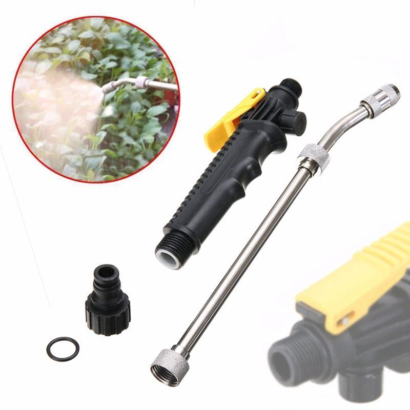 Wholesale 19 48cm Matal Car Washer High Pressure Washer Gun Multi Function Pressure Gun Power Washer Spray Nozzle Washing Water Gun 15mm