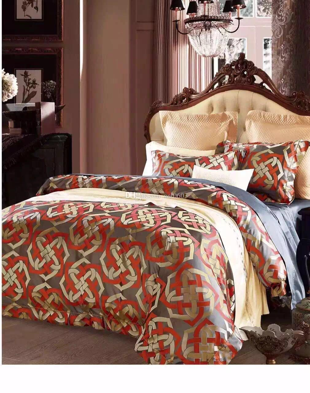 2018 Dubai Hotel Dedicated To 100 Supima Stripe Quilt Cover Bed Linen  Bedclothes Bed Set Bed Sheet Duvet Cover Pillowcases From Ant0603, $309.55  | Dhgate.