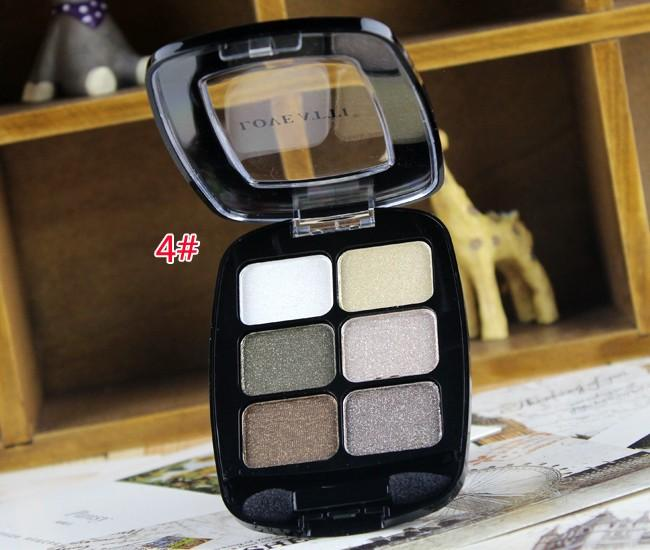 professional 6 Colors Natural Glitter Color Makeup products sparkly eyeshadowEye Shadow Palette Brand Smoky Eyeshadow Palette makeup artist