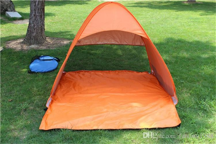 Quick Automatic Opening Hiking Camping Tents Outdoors Shelters 50+ UV Protection Tent for Beach Travel Lawn Home DHL/Fedex Shipping