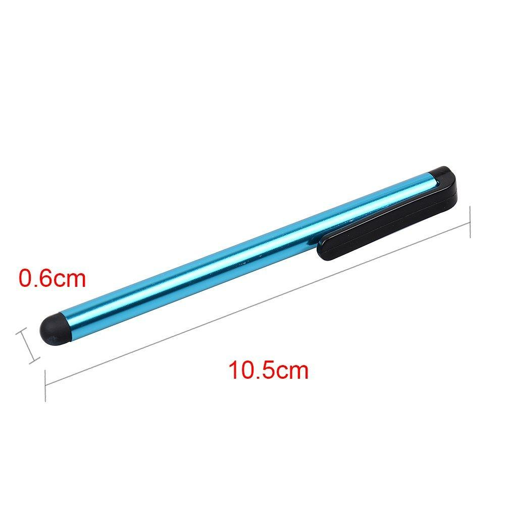 Stylus Długopis Możliwość Pojemnościowy Ekran wysoce wrażliwy Pióro dotykowe dla iPhone6 6Plus iPhone5 4 Samsungalaksja5 S4 Note4 Note3 Darmowa Wysyłka 100 sztuk