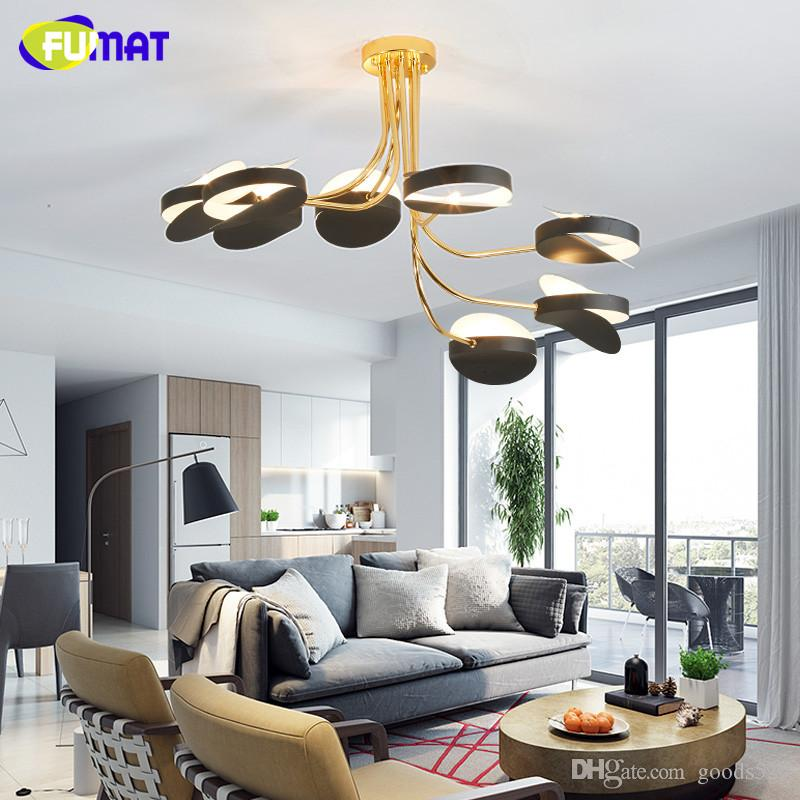 lighting for bedroom. 2018 Fumat Round Led Ceiling Lights Bedroom Vintage Industrial  Lamps Metal Light Fixtures Nordic Luxury Modern From Goods520