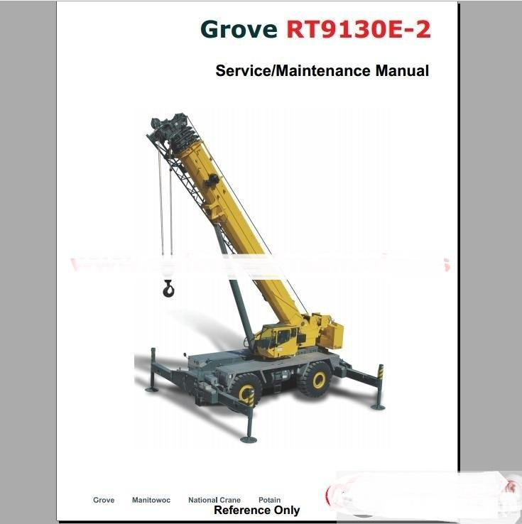 Grove Crane All Service Manual Training Manual Diagnosis Machine For ...