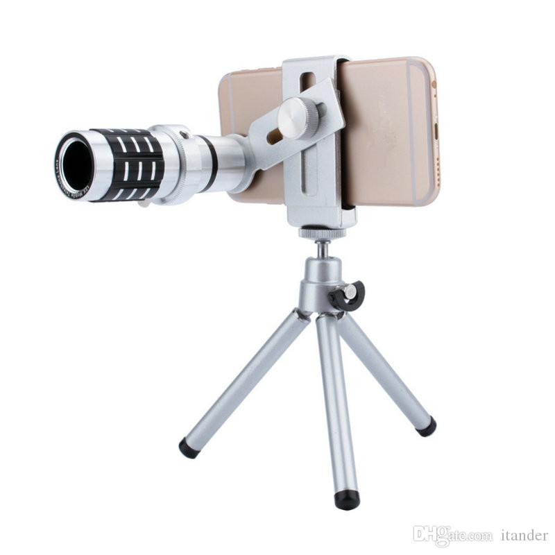 2019 Telescope Camera Lens 12x Optical Zoom No Dark Corners Mobile