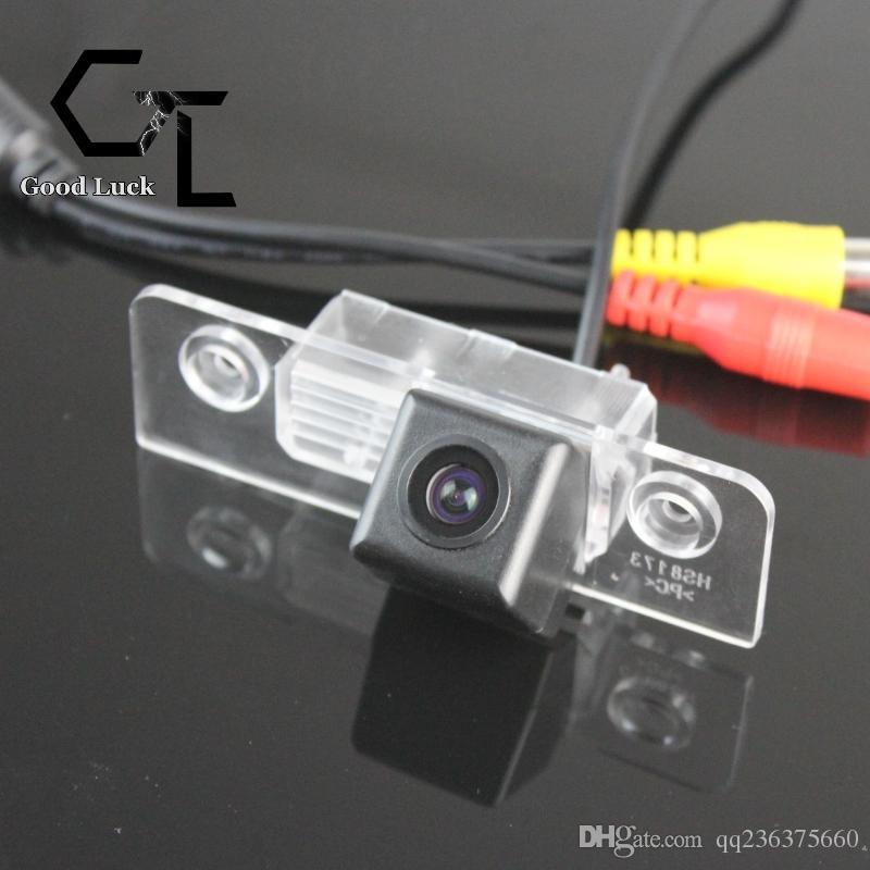 For Skoda Octavia Tour Laura Wireless Car Auto Reverse Backup CCD HD Night Vision Rear View Camera