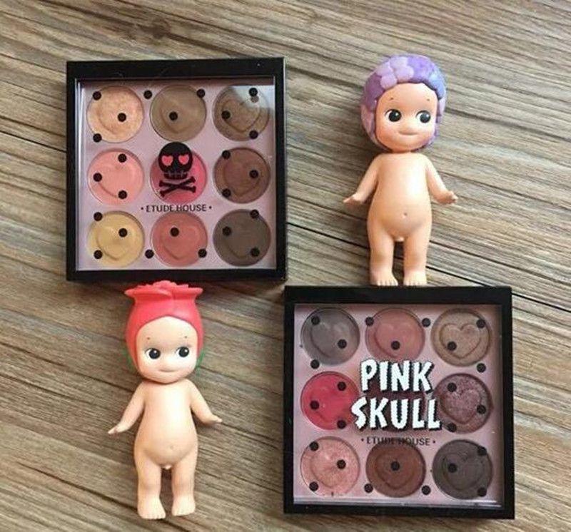 Nuove tavolozze di trucco Tablette Etude House Pink Skull Color Eyes EyeShadow Palette e Eyeshadow Palettes DHL Spedizione gratuita
