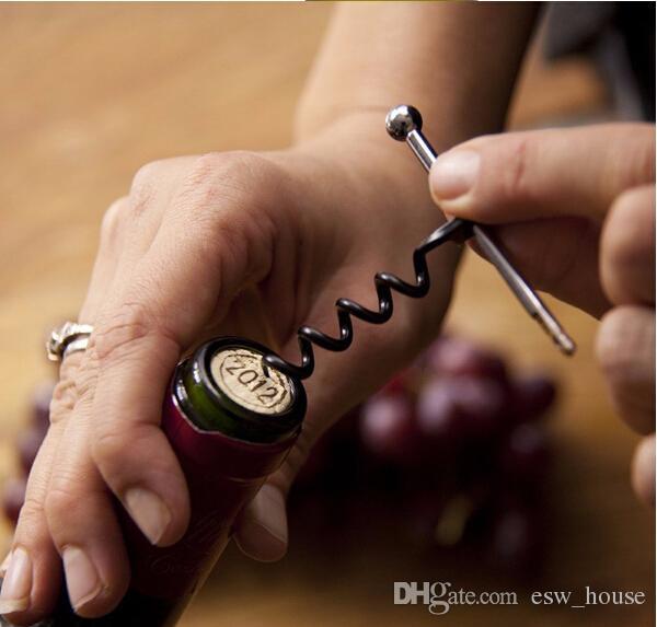 새로운 스테인레스 스틸 다기능 미니 야외 레드 와인 병 따개 Keychain 병따개 무료 배송