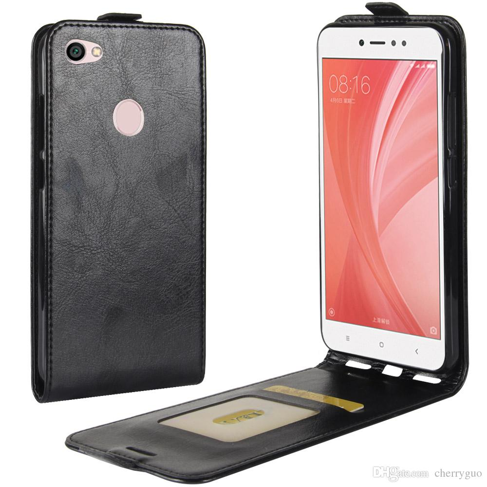 Retro Case For Xiaomi Redmi Note 5a Prime Tpu Pu Leather Up And Xiomi Down Cover With Card Slot Discount Cell Phone Cases Free From