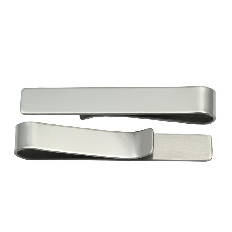 Beadsnice fashion tie clip uomo acciaio inossidabile personalizzato tie bar clip padre giorno regalo regalo di nozze groomsman ID 34316